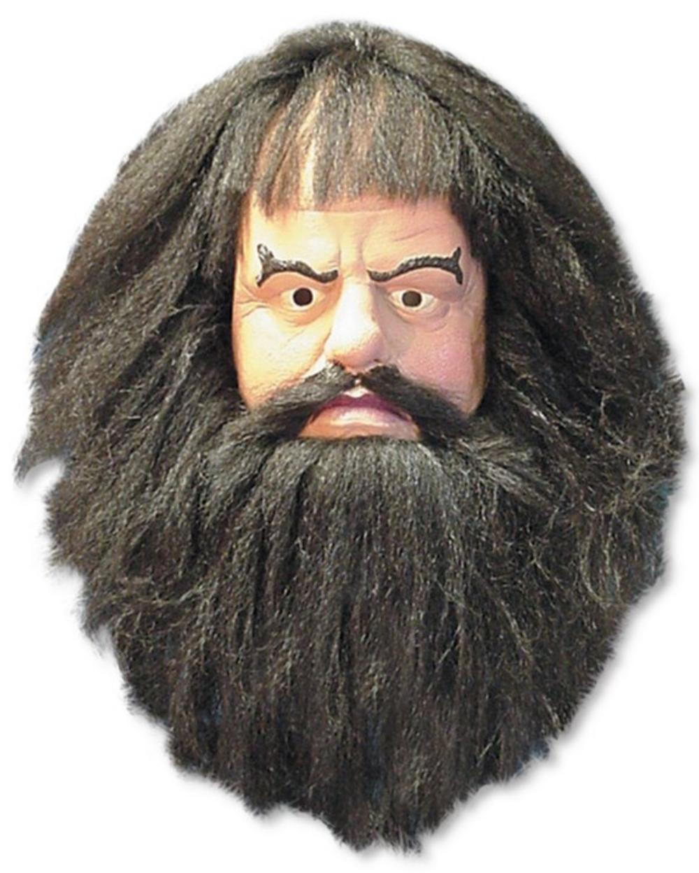Hagrid Harry Potter Mens Adult Fancy Dress Costume Mask | All ...