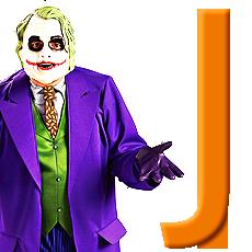 "Letter ""J"" Costumes"