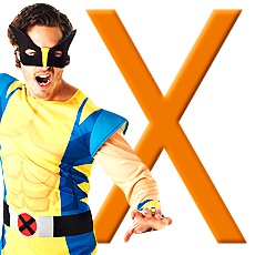 "Letter ""X"" Costumes"