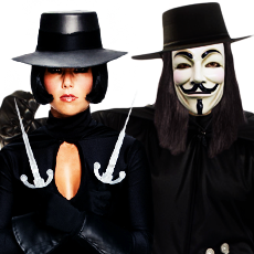 V for Vendetta Costumes