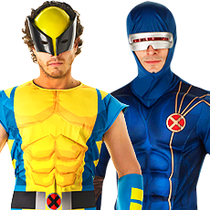 X Men Costumes  sc 1 st  Mega Fancy Dress & Super Hero u0026 Villain Costumes | Mega Fancy Dress