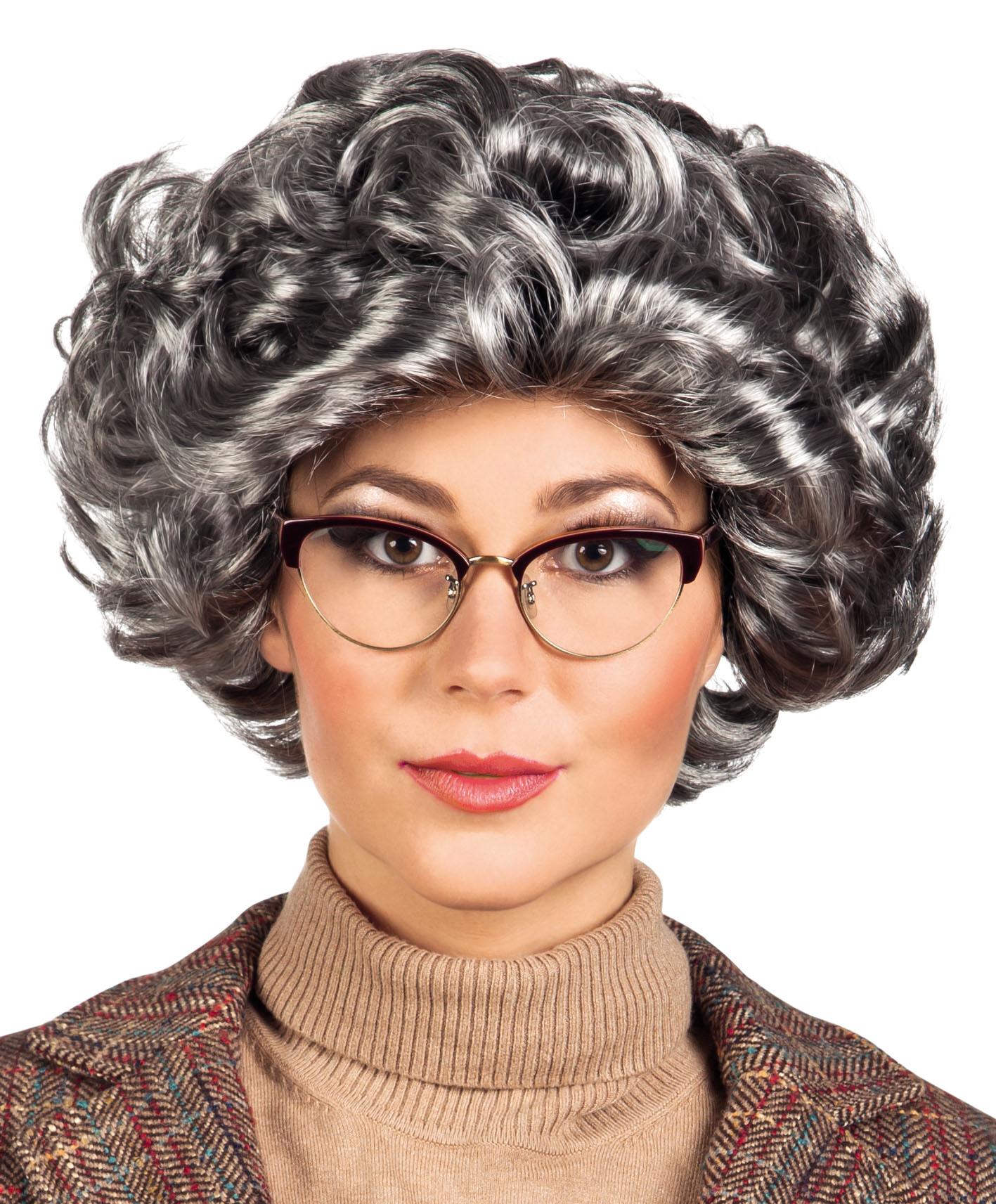 Sentinel Queen Elizabeth Wig Ladies Fancy Dress British Granny Womens  Costume Accessory 6aa933dc4a