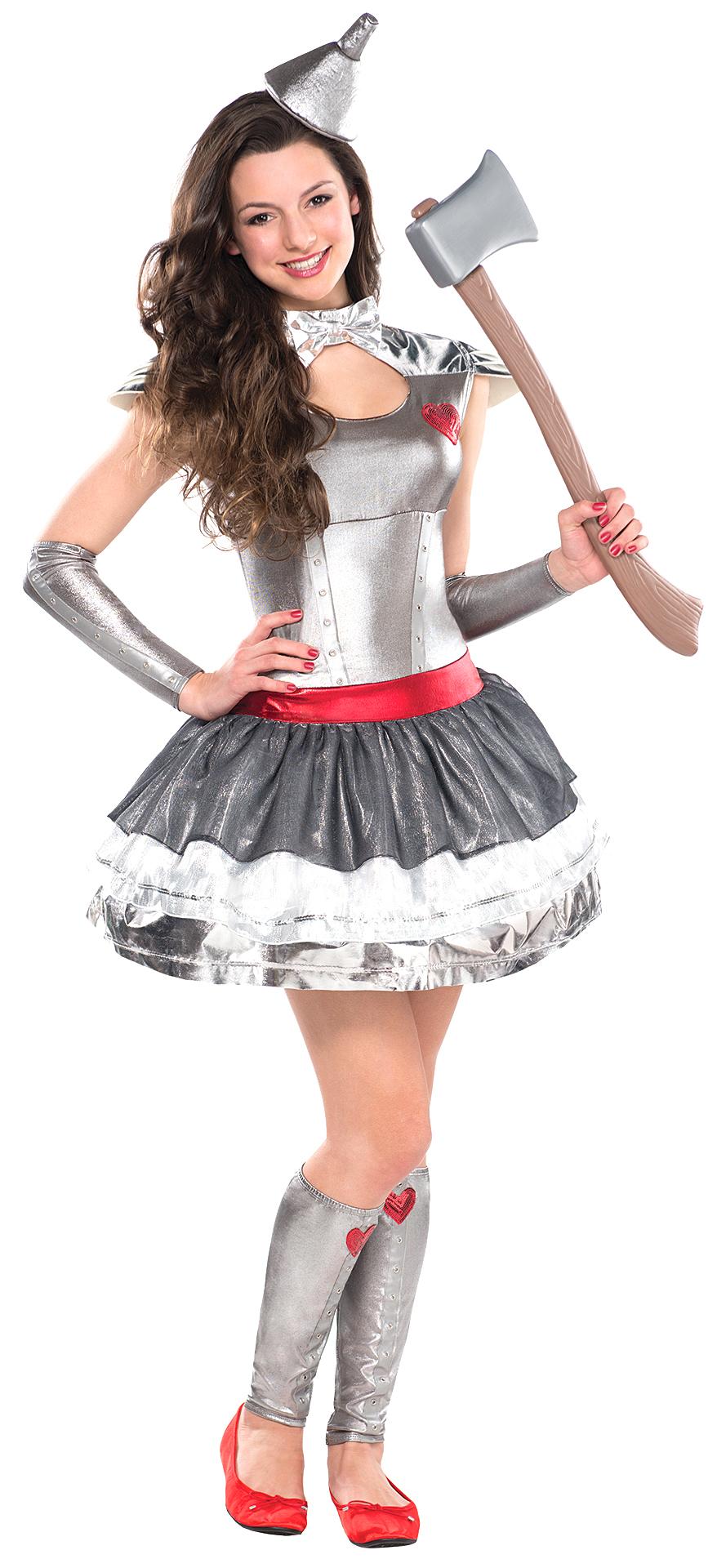Tin Heartthrob Costume | Girl's World Book Day Fancy Dress ...