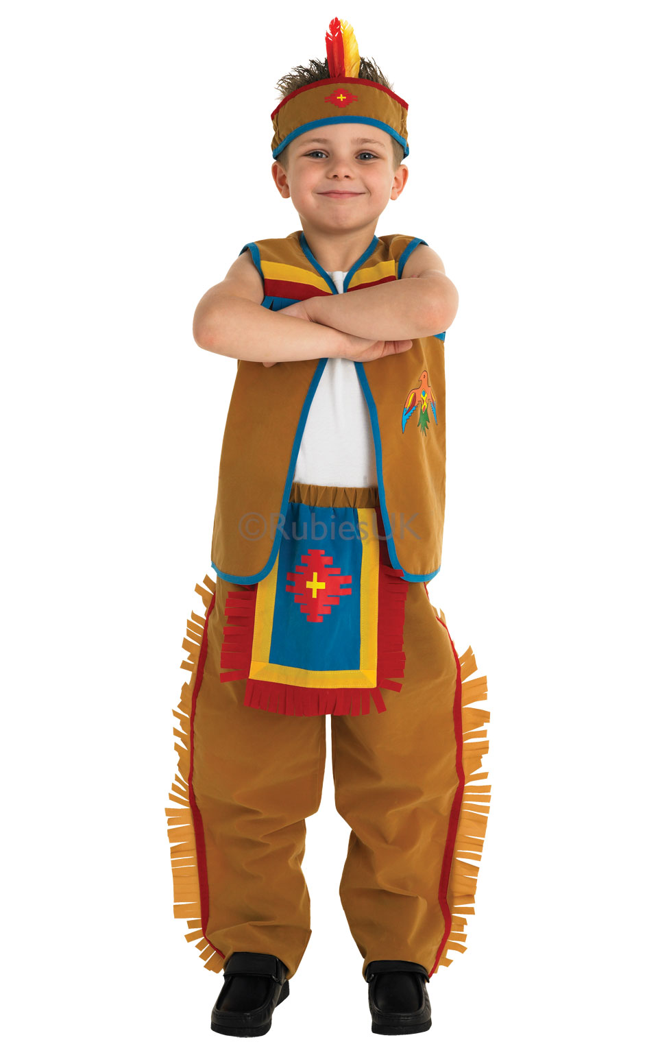 Child Cowboy Costume Book Week Day Boys Wild West Fancy Dress Outfit Kids
