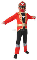 Red Super Megaforce Power Ranger Costume