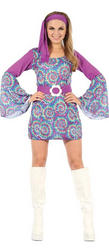 Groovy Psychedelic Hippy Costume