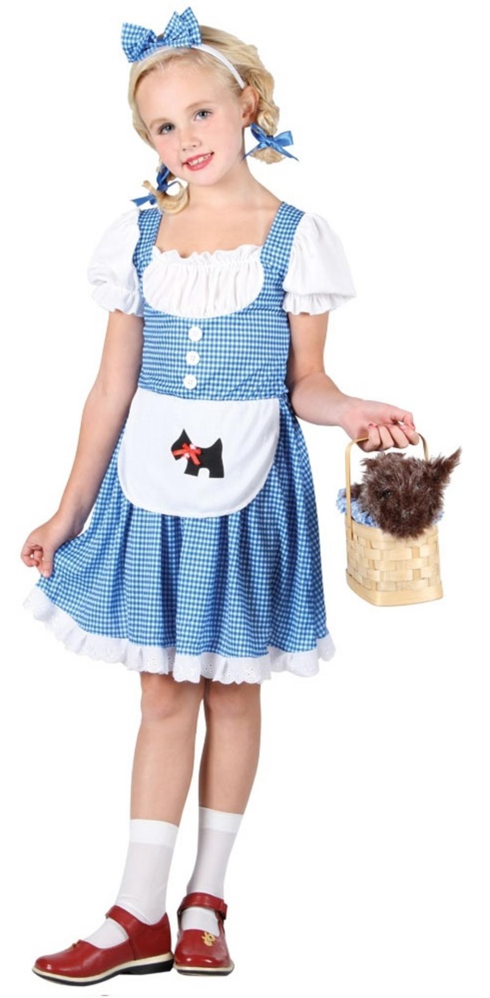 girls' story book dorothy costume | girl's world book day fancy