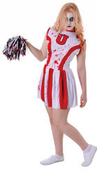 Bloody  Cheerleader Teen Costume