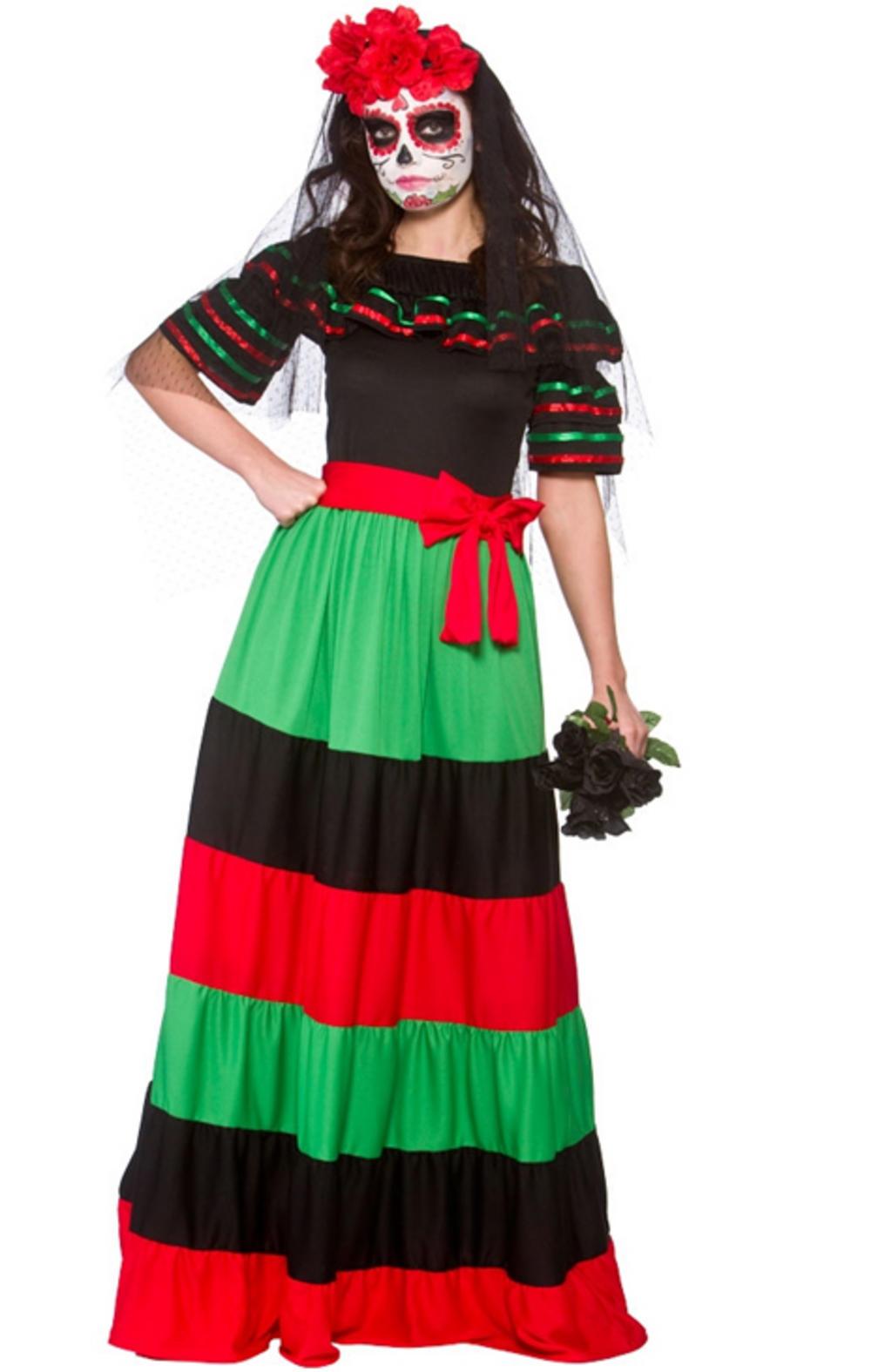 Day Of The Dead Senorita Fancy Dress