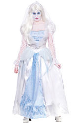 Gorgeous Ghost Bride Ladies Costume
