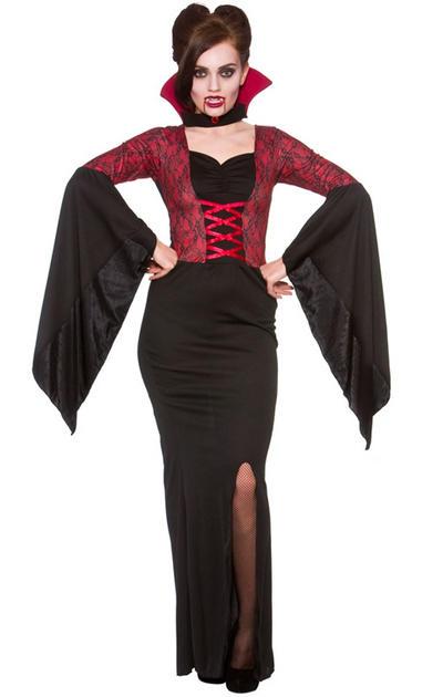 Alluring Vampires Ladies Costume