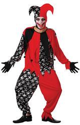 Evil Jester Mens Costume