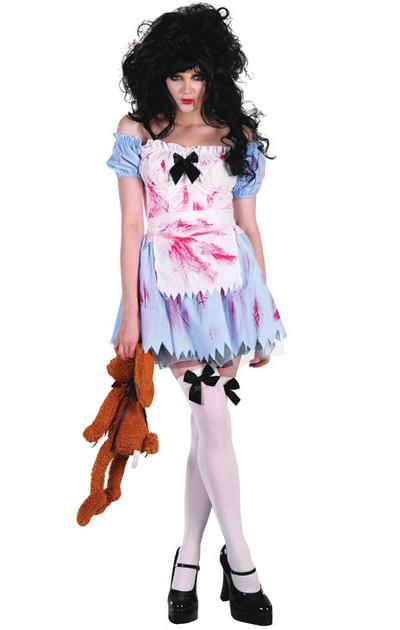 Zombie Alice Ladies Costume