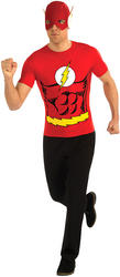 Flash Shirt & Mask Costume Set