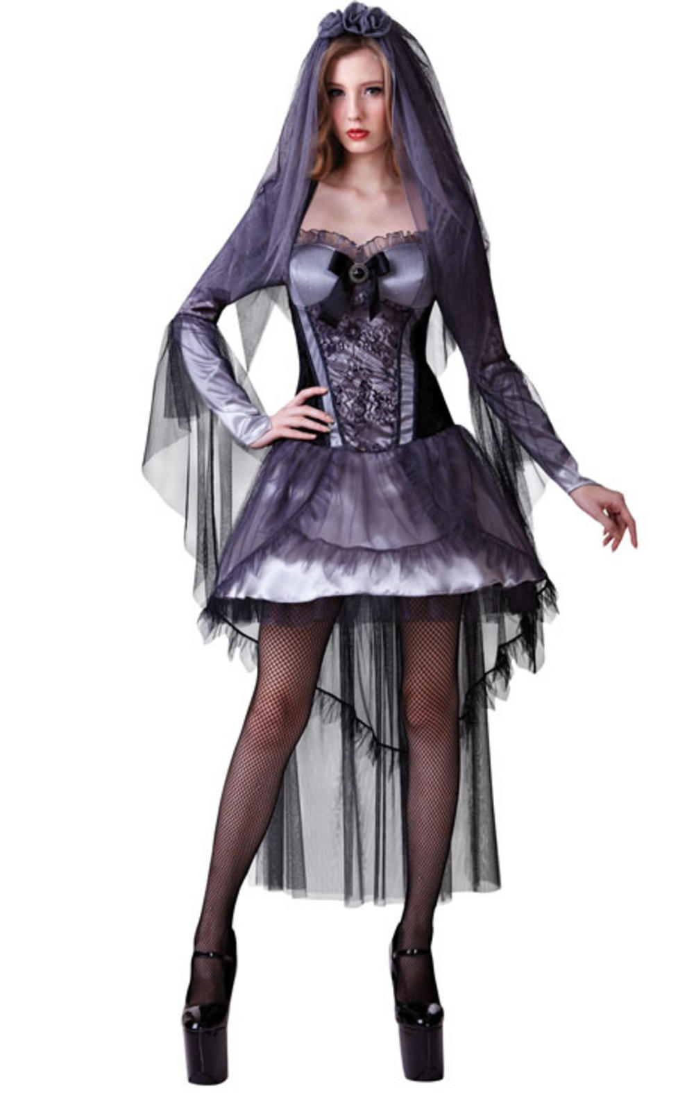 Dark Bride Ladies Costume