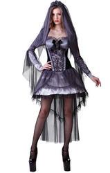 Dark Bride Ladies Costume