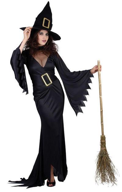 Black Witch Ladies Costume