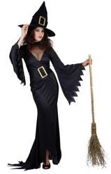 Black Witch Ladies Costume