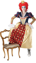 Disney Alice in Wonderland Red Queen Costume