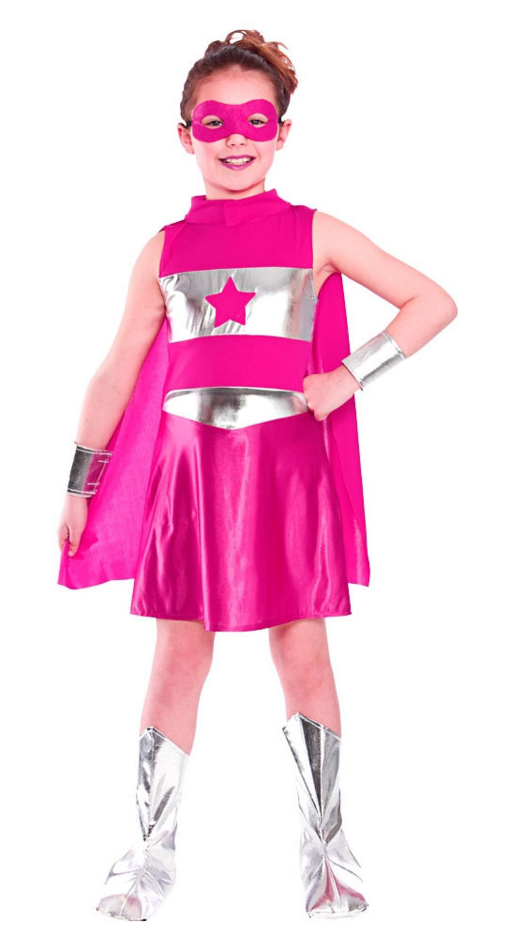 Pink Superhero Costume