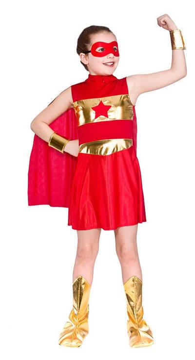Red Superhero Costume