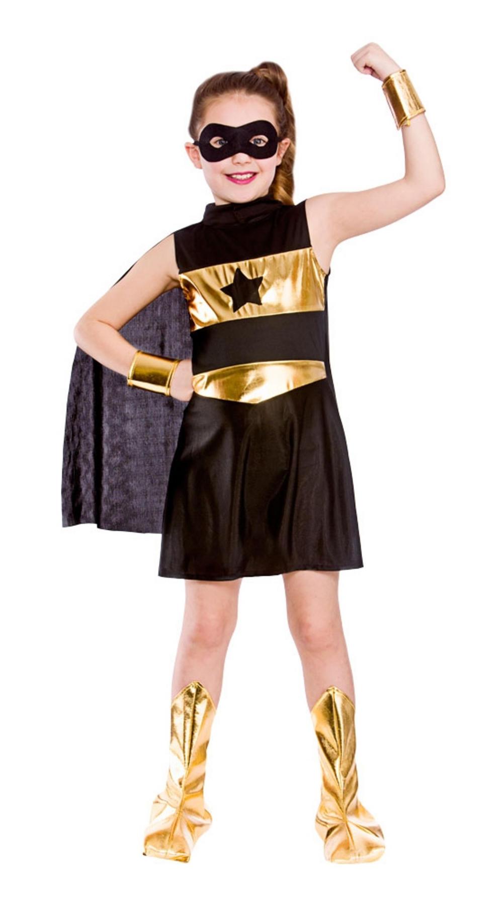 Black Superhero Girls Costume