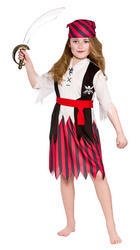 Shipwreck Pirate Girls Costume