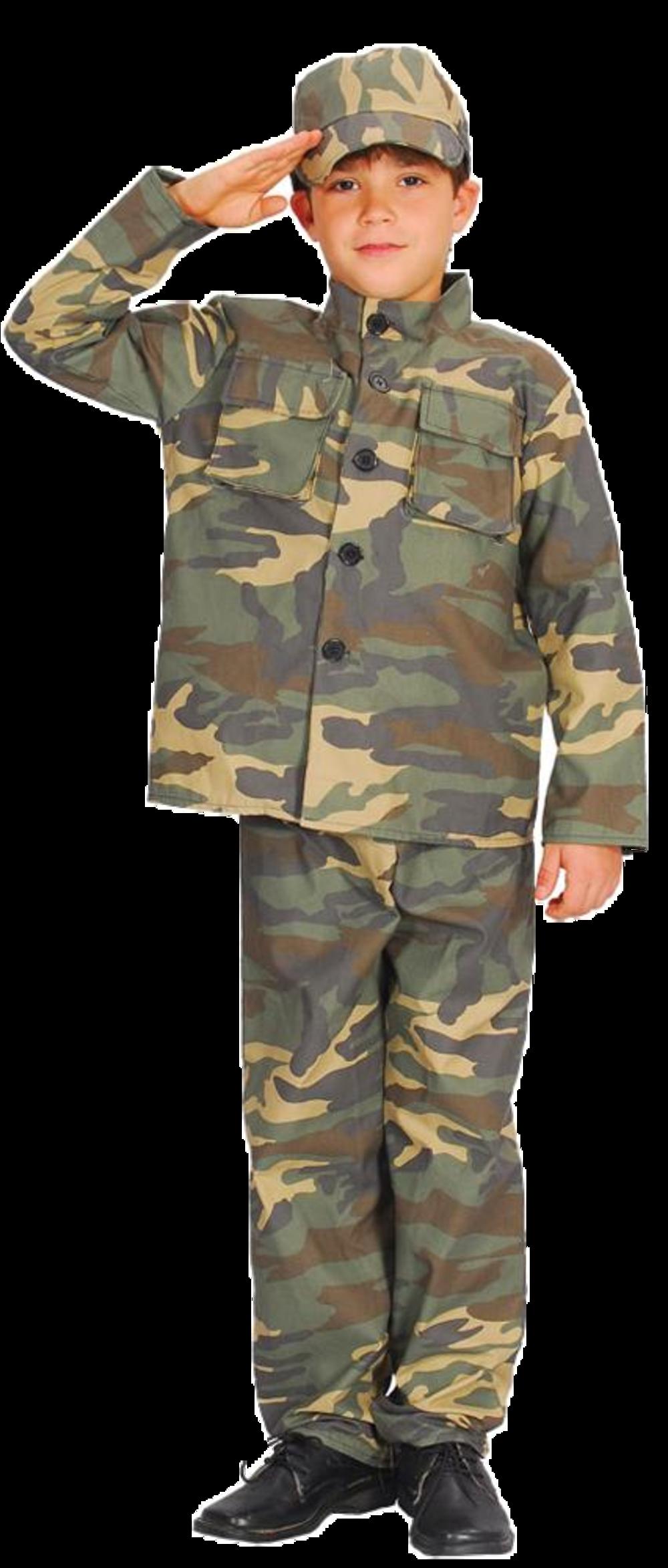 Boys Action Commando Costume