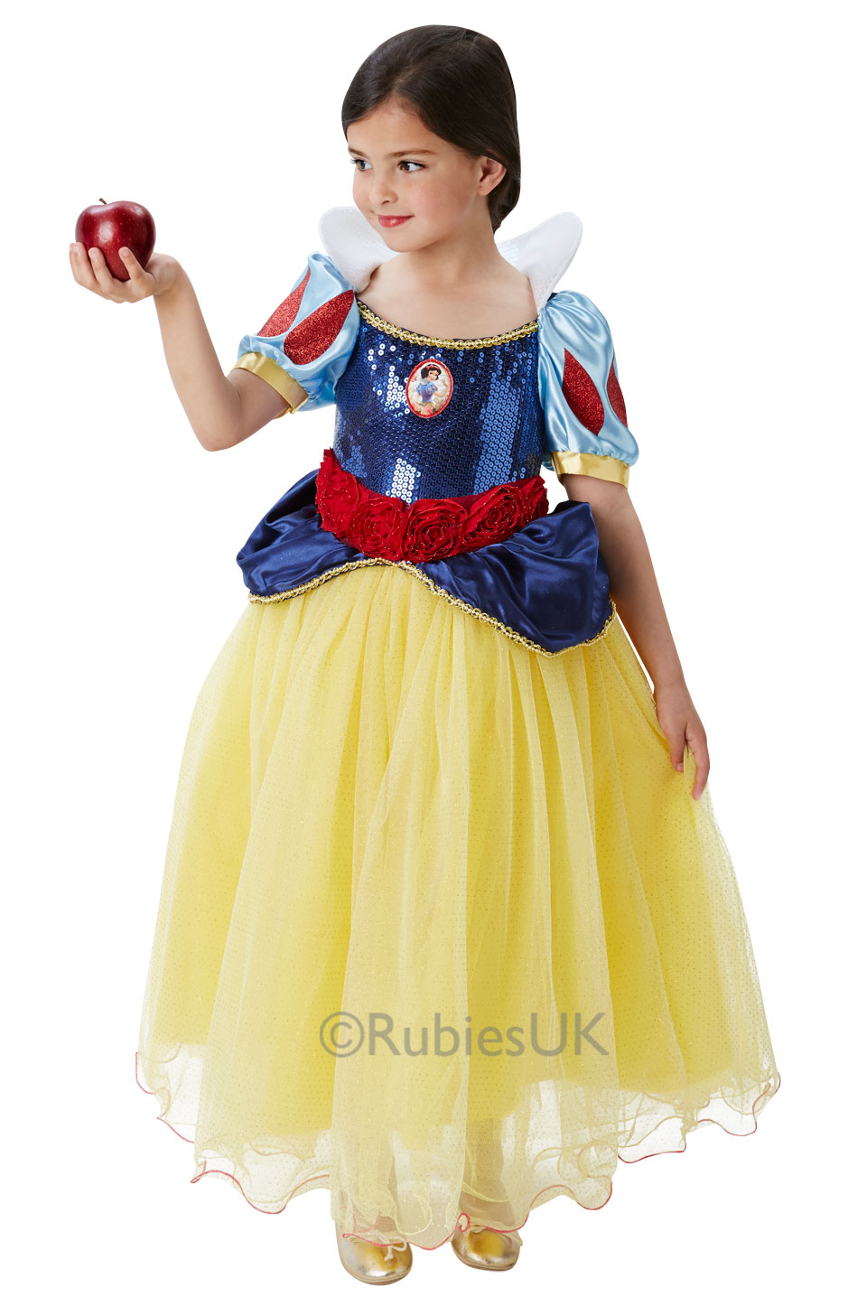 65438b228 Snow White Girls Fancy Dress Premium Disney Princess Kids Fairy Tale ...
