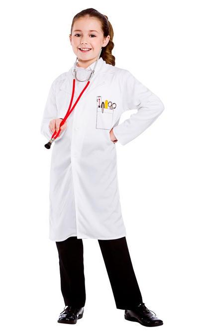 Doctors Kids Coat Costume