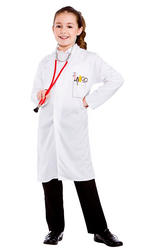 Doctors Kids Coat Costume