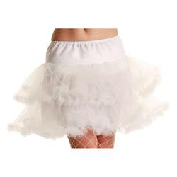 White 3 Layer Petticoat
