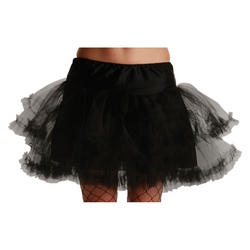 Black 3 Layer Petticoat