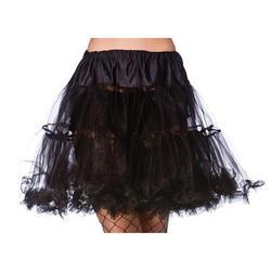 """Black 18"""" Ruffle Petticoat"""