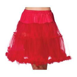 """Red 18"""" Ruffle Petticoat"""