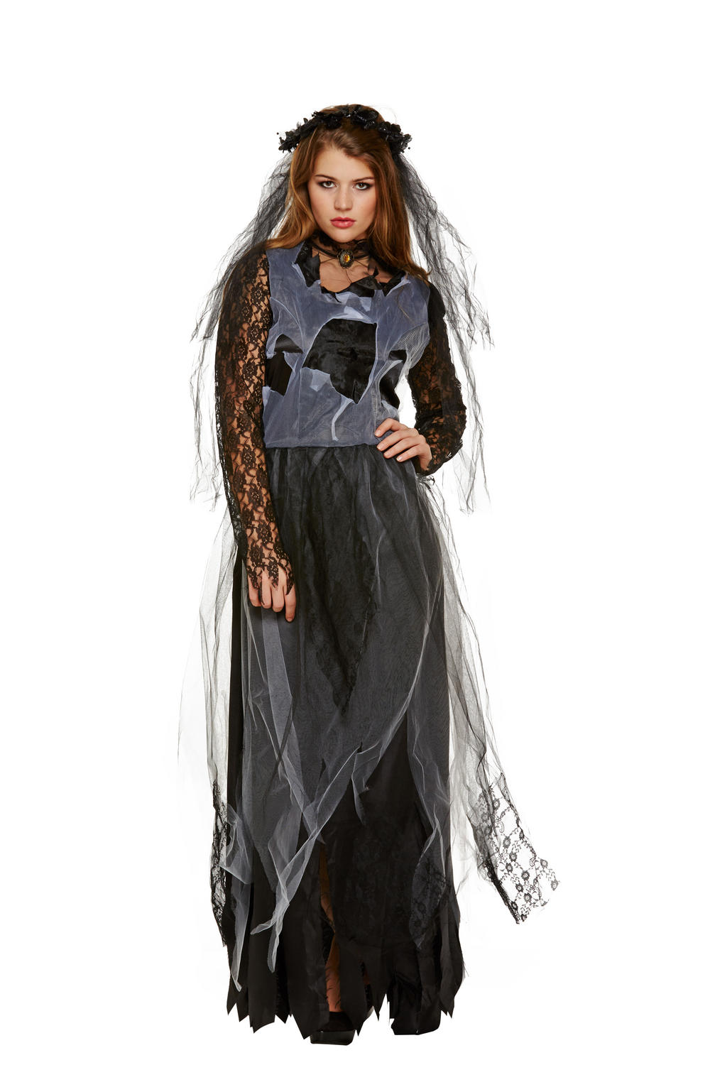 Zombie Widow Adults Costume