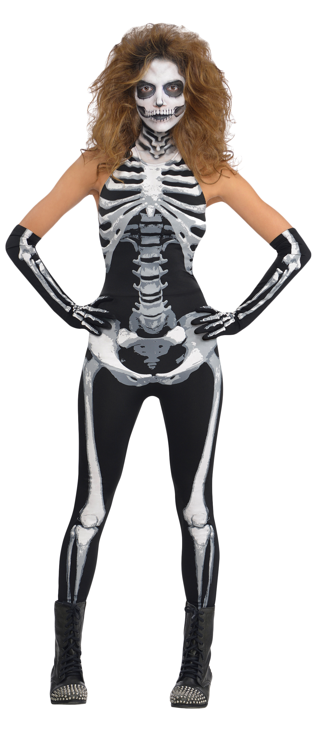 Halloween costumes sexy skeleton costume