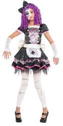 Damaged Doll Kids Costume