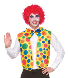 Clown Waistcoat and Bow Tie