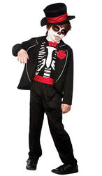 Day of the Dead Zombie Boys Costume
