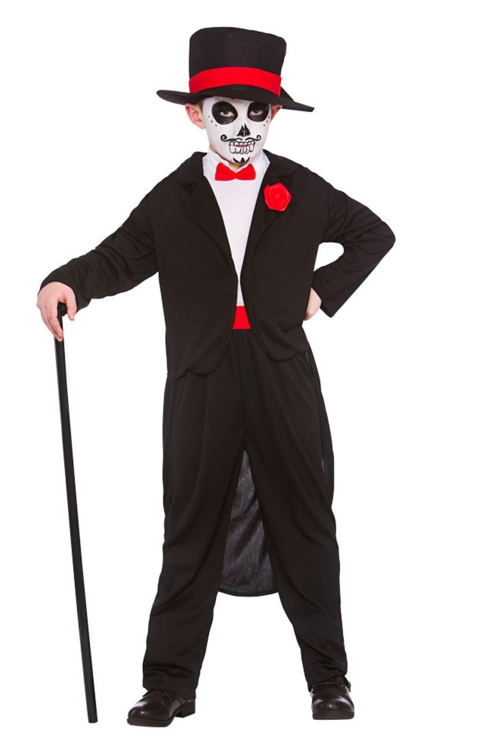 Day of the Dead Senor Boys Costume