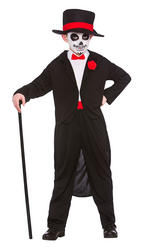 Day of the Dead Senor Boys Costume
