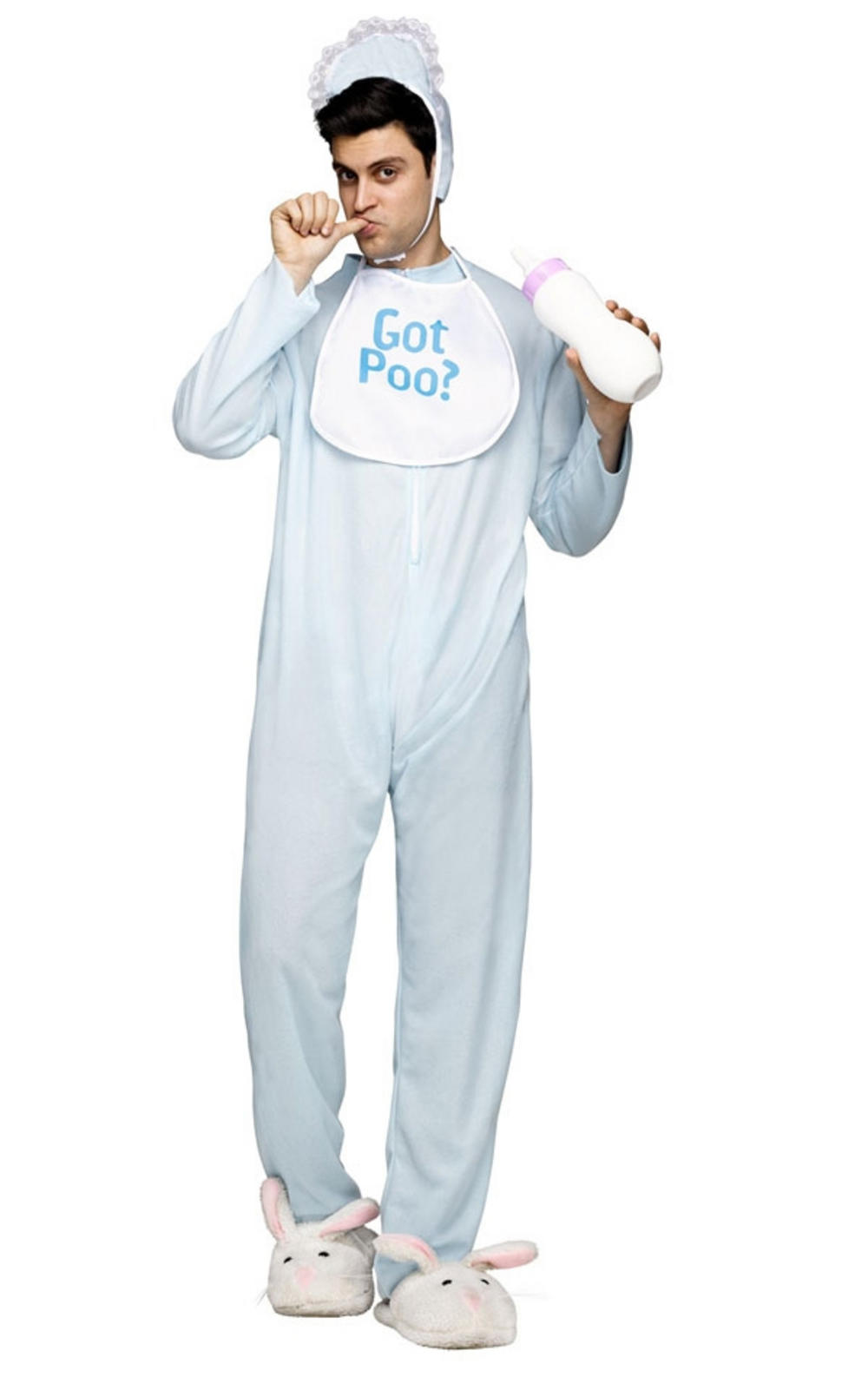 Baby Poopie Jammies Adults Costume