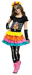 Day of the Dead Girls Costume
