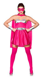 Pink Hot Superhero Costume