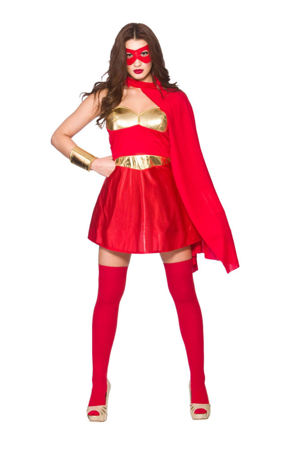 Red Hot Superhero Costume