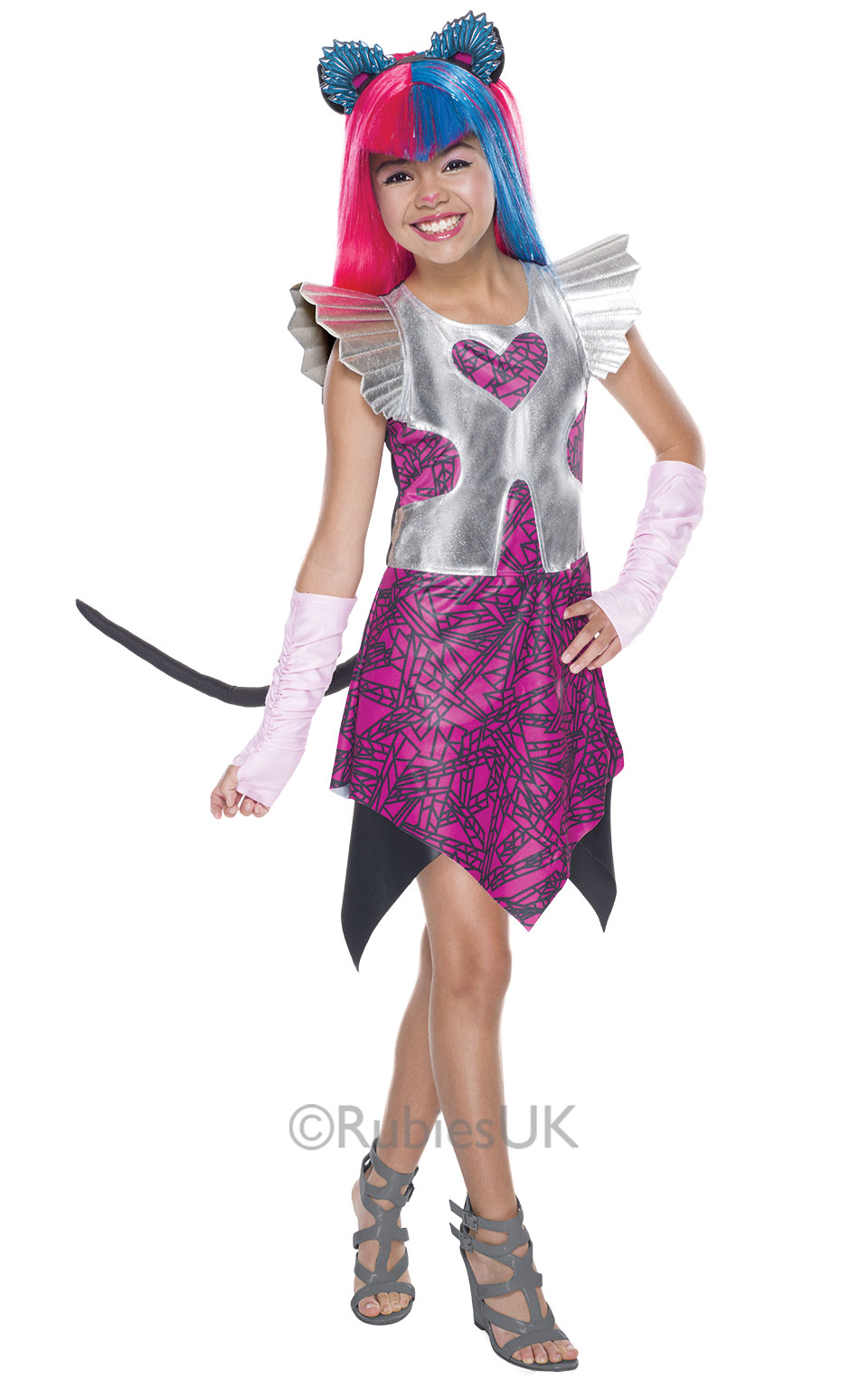 catty noir monster high costume | tv, book and film costumes | mega