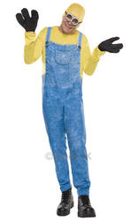 Minion Bob Mens Costume