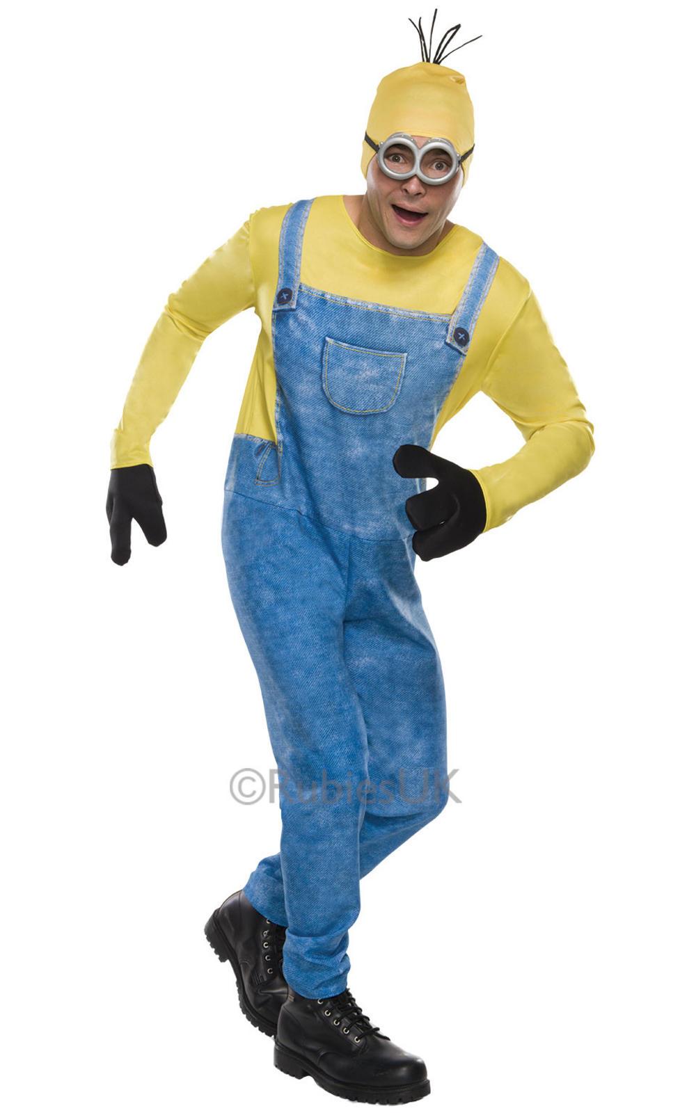 Minion Kevin Mens Costume