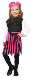 Caribbean Pirate Girls Toddler Costume